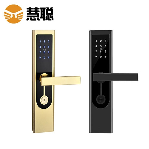 HC-0164密码锁手机APP蓝牙开锁公寓锁智能门锁电子防盗